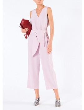 Silk Jumpsuit by Tibi