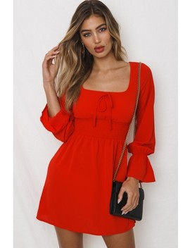 Crossroads Dress   Red by Dolly Girl Fashion