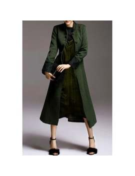 "<P>Skirted Belted Woolen Coat</P><I Class=""Icon Down Js Tap Up Down""></I> by Dress Lily"
