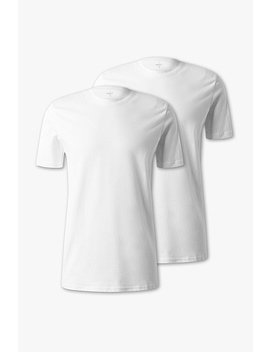 Basic T Shirts   Organic Cotton   2 Pack by Angelo Litrico