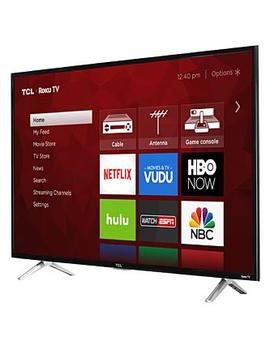"Tcl 49 S405 49"" Class 4 K Ultra Hd Roku Led Tvtcl 49 S405 49"" Class 4 K Ultra Hd Roku Led Tv by Tcl"