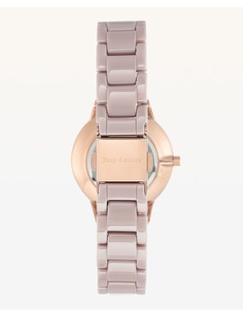 Jc Pink Ceramic Watch by Juicy Couture