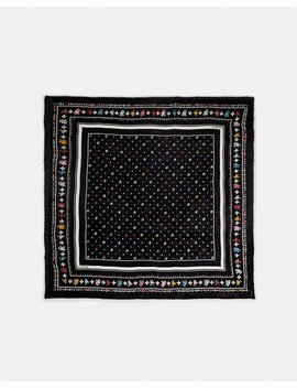 Coach Floral Bandana Oversized Square by Coach