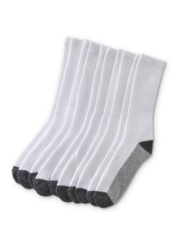 Athletech Men's 10 Pairs Crew Socks   Colorblock by Athletech