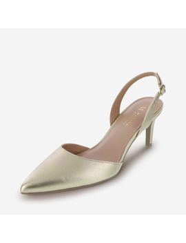 Women's Haven 2 Pc. Kitten Heel Sling by Learn About The Brand Martha Everyday