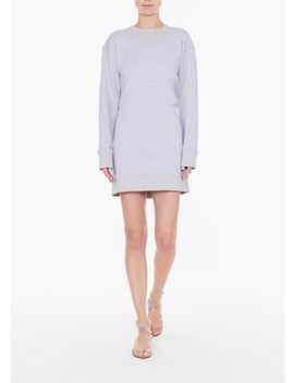 Open Back Sweatshirt Dress by Tibi