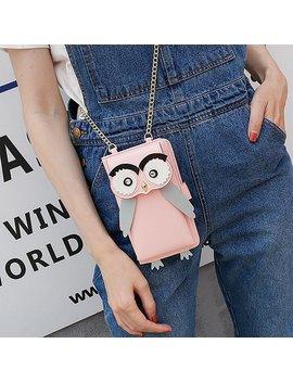 Women Cute Coin Purse Chain Crossbody Bag Multi Function Phone Bag by Newchic
