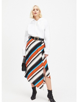 Multi Stripe Midi Skirt by Miss Selfridge