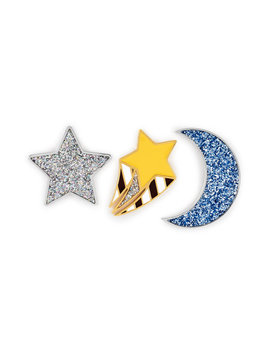 Celestial Pin Set by Henri Bendel