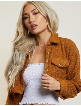 On Cloud 9 Cropped Jacket by 2020 Ave