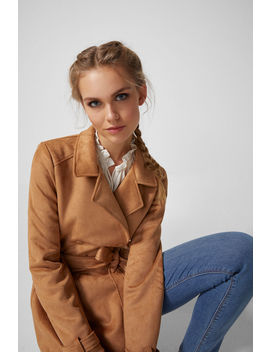 Belt Trench Coat by Springfield