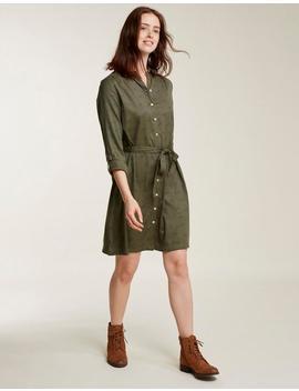 Shelley Dragonfly Spot Shirt Dress by Fat Face