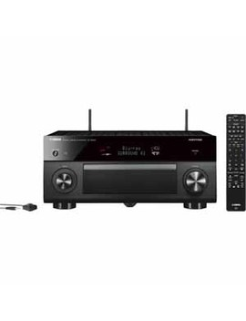 Yamaha Aventage 9.2 Channel Av Receiver With Music Cast   Black by Yamaha