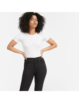 Authentic Stretch High Rise Skinny Button Fly by Everlane