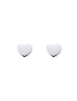 Ladies Ted Baker Stainless Steel Harly Tiny Heart Stud Earring Tbj872 01 03 by Ted Baker Jewellery