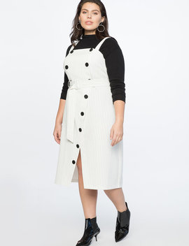 Striped Trench Dress by Eloquii