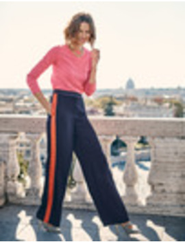 Exeter Wide Leg Trousers by Boden