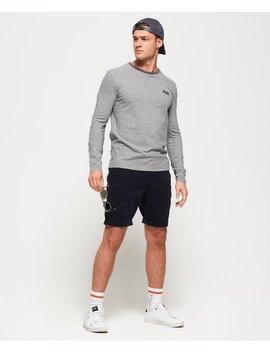 Merchant Stripe Long Sleeve T Shirt by Superdry