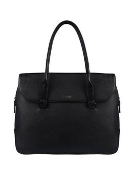 Plume Elegance Leather Laptop Tote Bag by Lipault Paris
