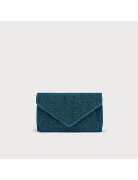 Lorna Blue Clutch Bag by L.K.Bennett