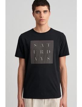 Stencil Grid T‑Shirt Black           Rag Left T Shirt   Stone Blue              Wave Condensed T Shirt   White              Ditch Poppy S Hoodie   Brick              Ditch Monstera Block Hoodie   Stone Blue by Saturdays Nyc
