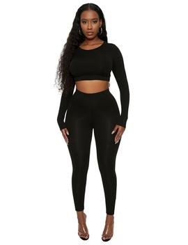 The Nw Lovin' The Crew Legging Set by Naked Wardrobe
