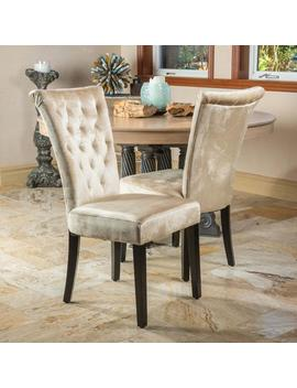 paulina-champagne-velvet-dining-chairs-(set-of-2) by gdf-studio