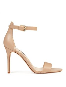 Mana Ankle Strap Sandals   New Nude Leather by Nine West