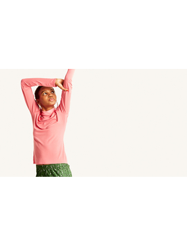 Pink Roll Neck Top by Nobody's Child