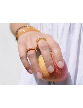 Gold Aztec Nian Ring by Missoma