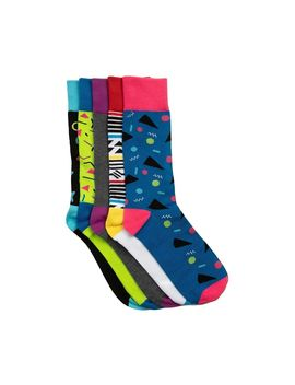 90s Crew Socks 5 Pack by Read Reviews