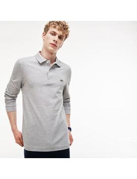 Men's  Slim Fit Petit Piqué Polo Shirt by Lacoste
