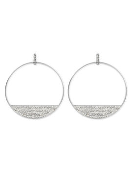 Bendel Rocks Disc Hoops by Henri Bendel