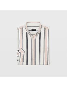 Slim Multi Stripe Shirt by Club Monaco