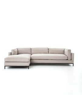 Fritzie Laf Sectional, Natural by Lulu & Georgia