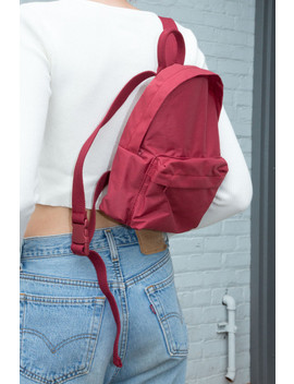 Red Backpack by Brandy Melville