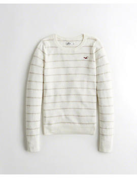 Slim Crewneck Sweater by Hollister