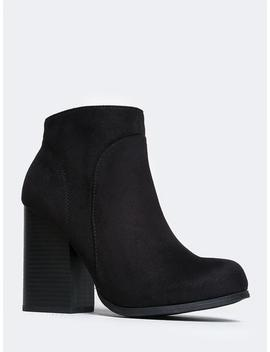 Eden Wedge Ankle Booties by Zooshoo