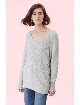 Novelty Stitch Pullover by Rebecca Taylor