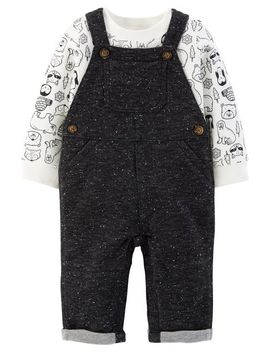 2 Piece Tee & Overalls Set by Carter's