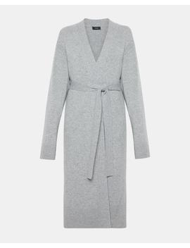 Waist Tie Robe Cardigan by Theory
