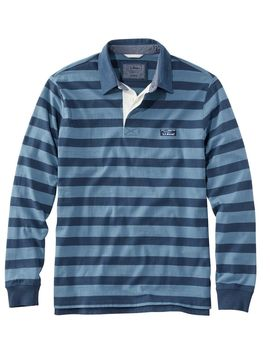 Lakewashed Rugby, Traditional Fit Long Sleeve Stripe by L.L.Bean