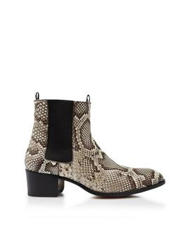 Python Wilde Ankle Boots by Tom Ford