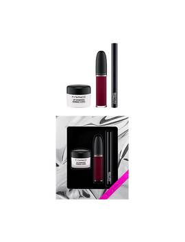Sweet Scrub Set: Black Cherry / Shiny Pretty Things by Mac Cosmetics