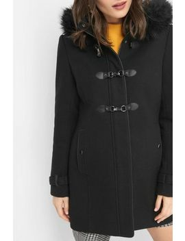 Áčkový Kabát S Kožešinou by Orsay
