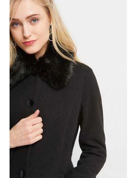 Volný Kabát S Ekokožešinou by Orsay