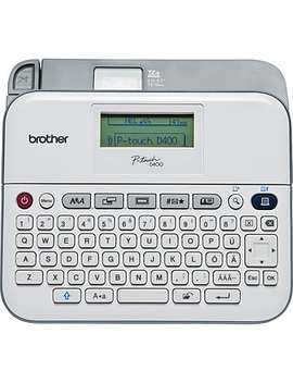 Brother Pt D400 Ad Versatile Label Maker With Ac Adapter by Staples