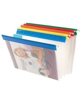Pendaflex® Easy View Hanging Files, Letter Size, Assorted Colours by Staples