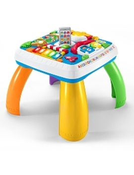 Fisher Price Laugh & Learn Around The Town Learning Table   French Edition by Toys Rus