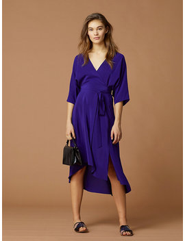 Eloise Silk Wrap Dress by Dvf